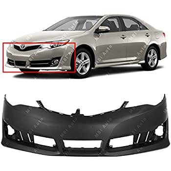 Primered TO1100296 MBI AUTO Rear Bumper Cover Replacement for 2012 2013 2014 Toyota Camry 12 13 14