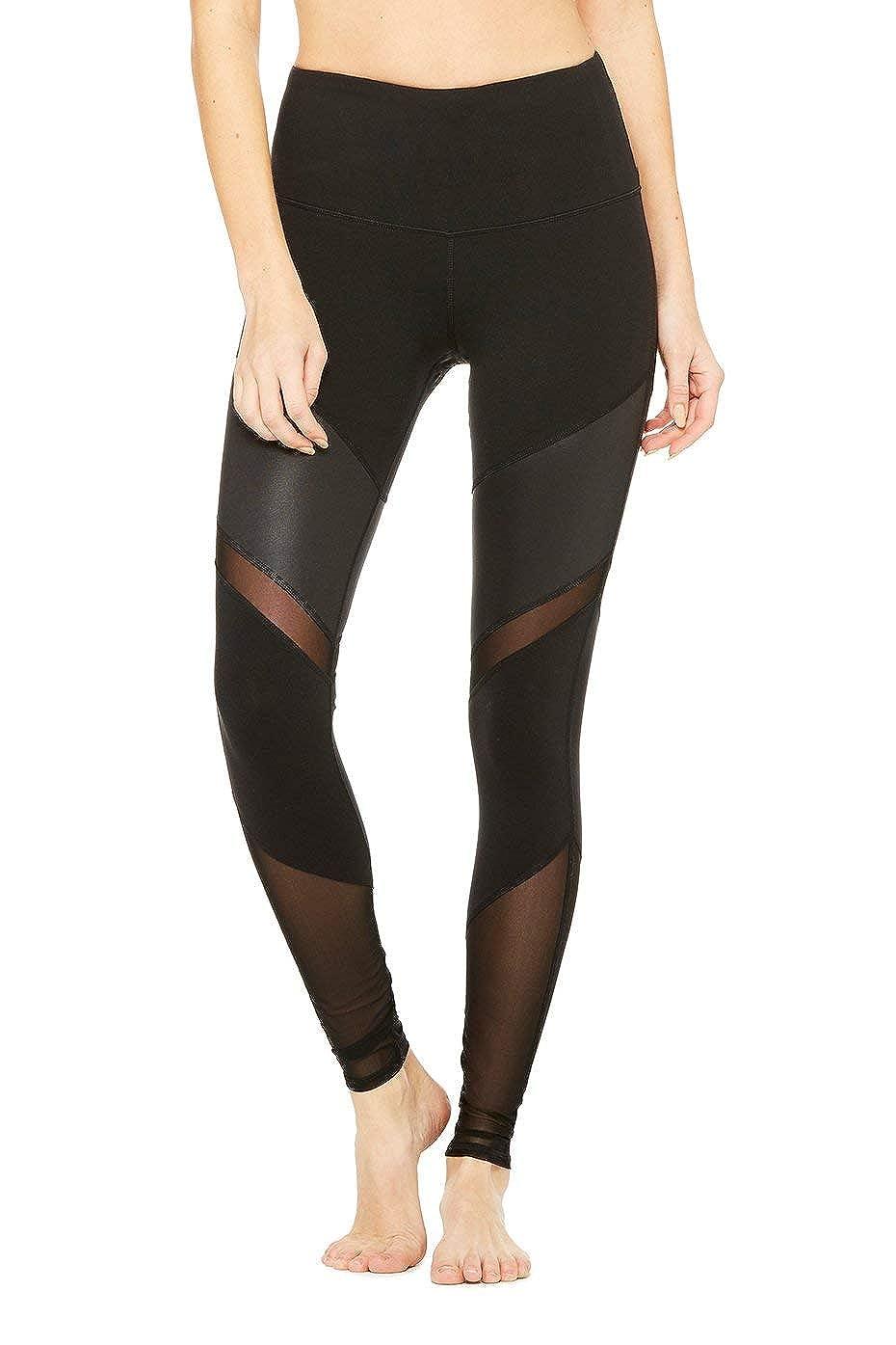 Amazon.com: Alo Womens High-Waist Sheila Legging, Black ...