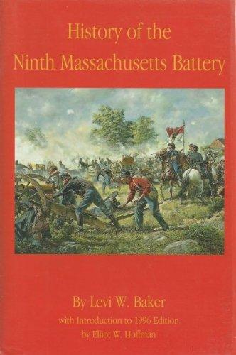 History of the Ninth Massachusetts Battery pdf
