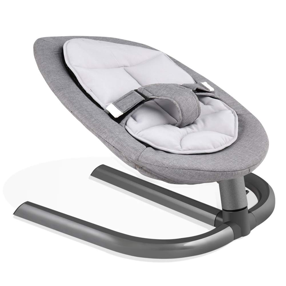 Baby Rocking Chair Baby Cradle Bed, Children's Recliner Comfort Chair, Newborn Rocking Chair,Gray by ZZLYY