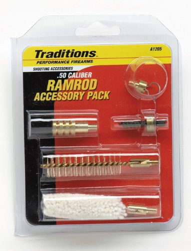 Traditions Performance Firearms Muzzleloader Ramrod Accessories - Powder Patch Black