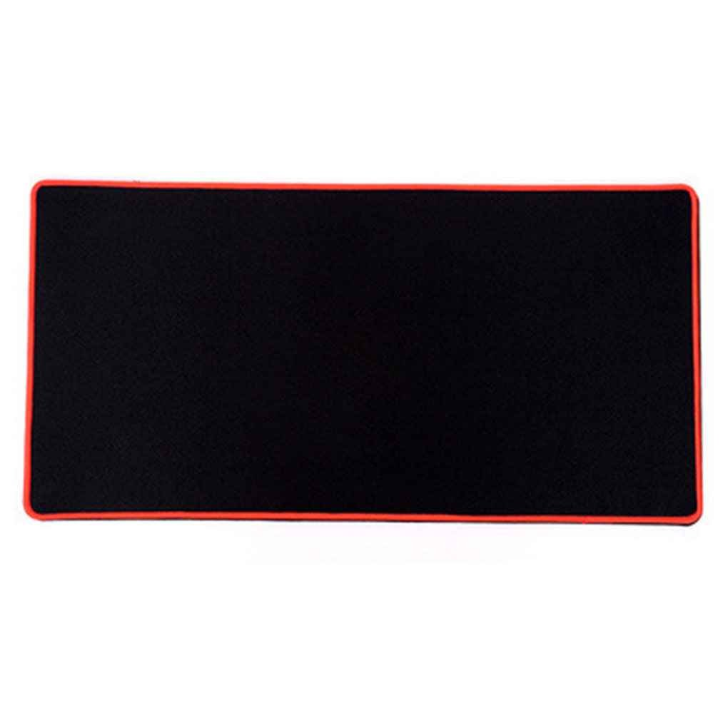 Omkuwl NEW Extra Large Size Mouse Mat Gaming Mouse Pad Desk Pad Edge Locked green