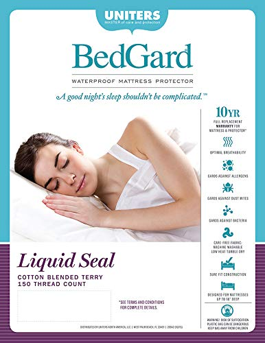BedGard 10-Year Mattress Protection Queen (B)