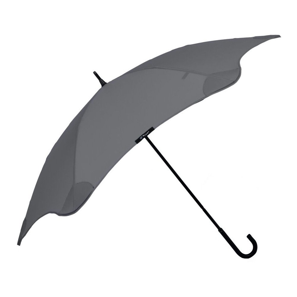 """BLUNT Lite Travel Umbrella with 41"""" Canopy and Wind Resistant Radial Tensioning System - Charcoal"""