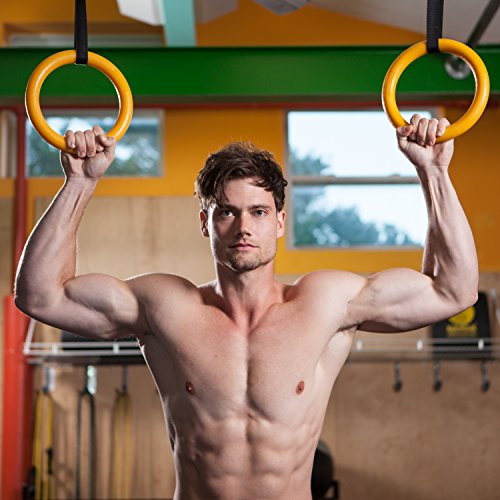 Athletics Gymnastics Strength: Nayoya Gymnastic Rings For Full Body Strength And Muscular