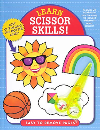 Learn Scissor Skills! (Includes Safety Scissors!)