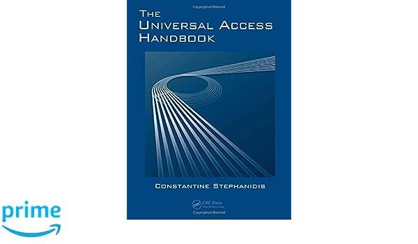 The Universal Access Handbook Human Factors and Ergonomics