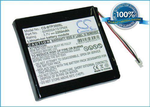 power2tek-battery-37v-for-blaupunkt-824850a1s1pmx-travelpilot-tp300-free-power-bank-2600mah