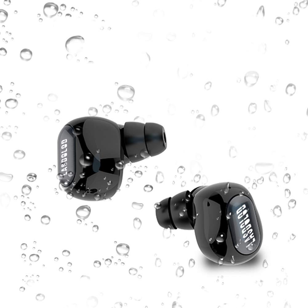 Auriculares Bluetooth TWS Mini Audífonos In Ear Inalámbricos Deportivos BT 5.0 Estéreo IPX5 con Estación de Carga magnético Micrófono Incorporado para ...