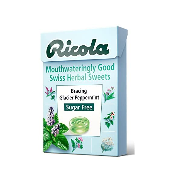 Ricola Bracing Glacier Peppermint, 45 g