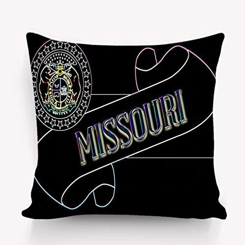 zexuandiy Square Throw Pillow Case Cotton Velvet Cushion Cover 18