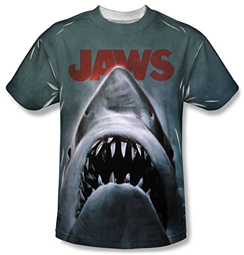 Dirty White Tee T-shirt (JAWS Japan Poster Dirty White Adult T-shirt)