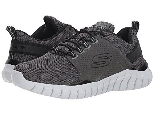 [SKECHERS(スケッチャーズ)] メンズスニーカー?ランニングシューズ?靴 Overhaul Primba Charcoal/Black 10 (28cm) D - Medium