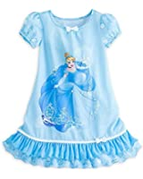 Disney Princess Little Girls Gown Nightgown Pajamas