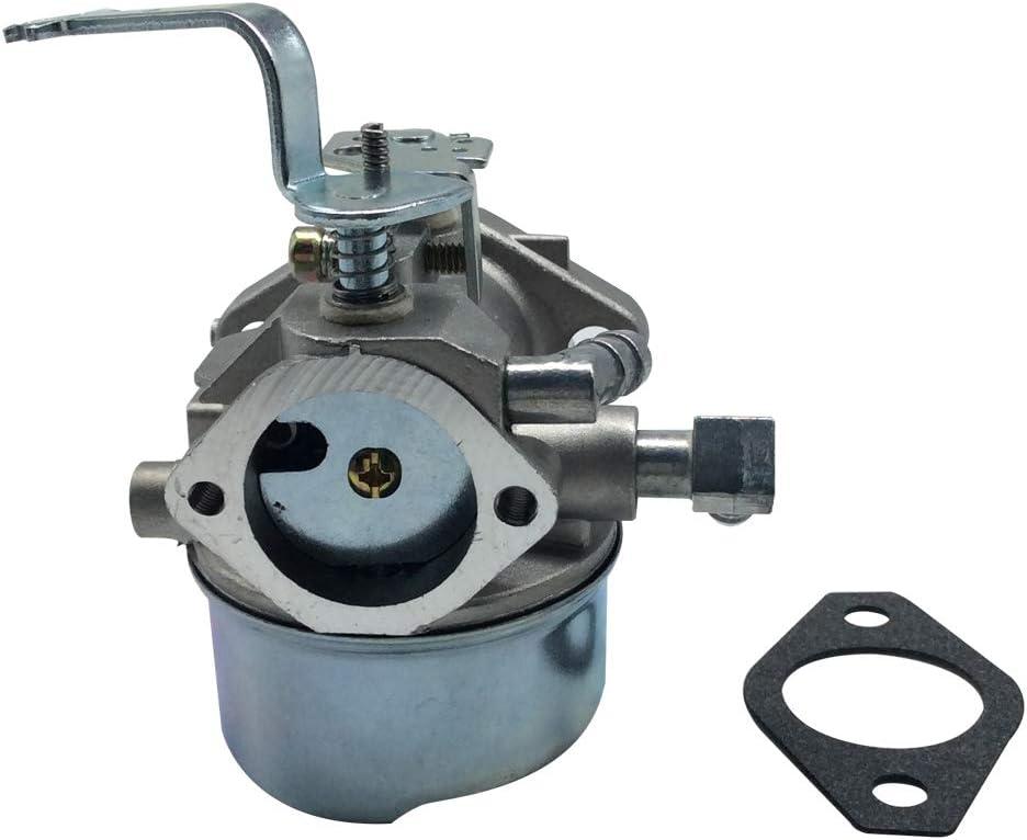 shamofeng Repuesto de carburador Tecumseh para HM80 HM100 640152A 640023 640051 640140 640152