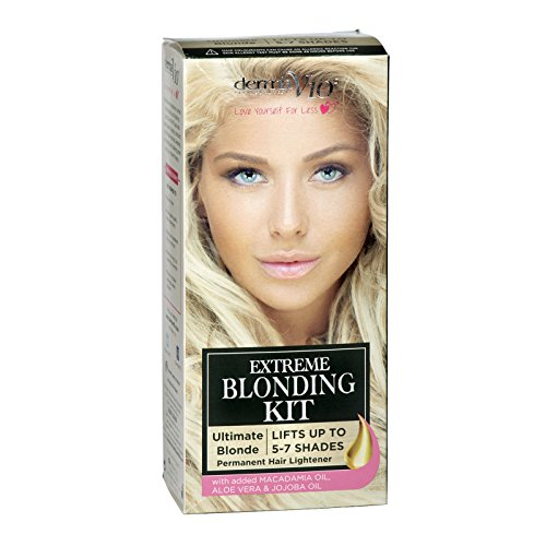 DERMA V10 EXTREME BLEACHING BLONDE KIT LIFTS 5-7 SHADES ULTIMATE