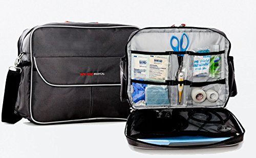 Medical Bag- Essential, Home Health, Nurses, Students, Un-Packed (Adc Nylon Medical Bag)