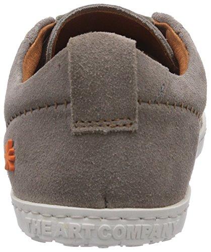 sneakers for cheap ad9d8 d0576 Gris De Con Cordones Zapatos Cuero Unisex niebla Qwerty Art Grau nxPW7qwFx