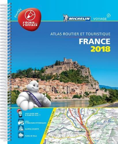 Atlas routier France plastifié Michelin 2018 Couverture à spirales – 2 octobre 2017 2067225774 Karten / Stadtpläne Gazetteers & Maps) Travel & Holiday