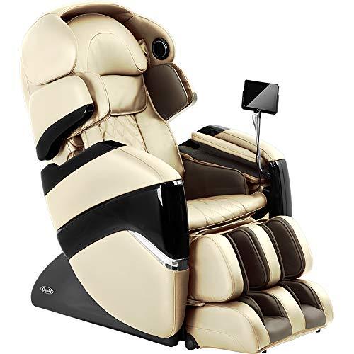 Osaki OS-3D Pro Cyber 2.0 Zero Gravity Massage Chair, S-Track Design, Touch Screen Remote, Foot Rollers (Cream)