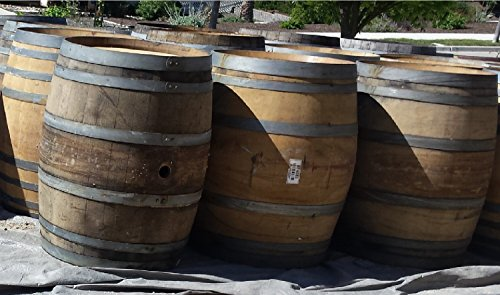Four (4) Authentic Used Wine Barrels - Bordeaux-style - REDUCED