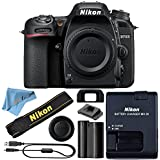 Nikon D7500 DSLR Camera With 18-140mm ED VR Lens - Includes Manufacturer Supplied Accessories (Body Only, Cloth Only)