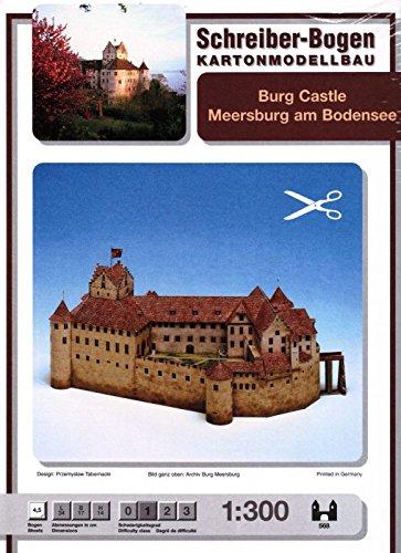 Schreiber-Bogen Meersburg Castle Card Model