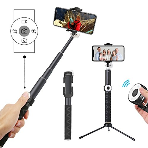 how to connect selfie stick to samsung s8
