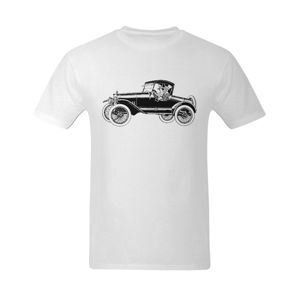09960c38 Bright Star Men's Car First On Vintage Scissors And Graphics T-Shirt - Funny  Sayings T Shirts US Size Small Apparel