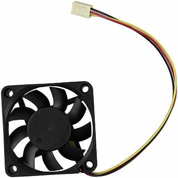 Ventilador de refrigeración, bobogo 60 mm PC ventilador de CPU 12 ...