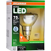 SYLVANIA 75W Equivalent - LED Light bulb - Par30 Lamp - - Warm White - Wet Rated & Energy Star qualified ULTRA Line - E26 Medium Base - 13W - 3000K by Sylvania