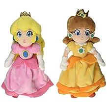 Little Buddy Nintendo Mario Plush Doll Set of 2 - Princess Peach/Princess Daisy by Little Buddy