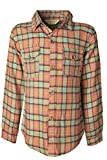 Ipuang Girl's Long Sleeve Button Down Plaid Shirt