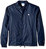 Champion LIFE Men's Coaches Jacket West Breaker Edition, Navy, Medium