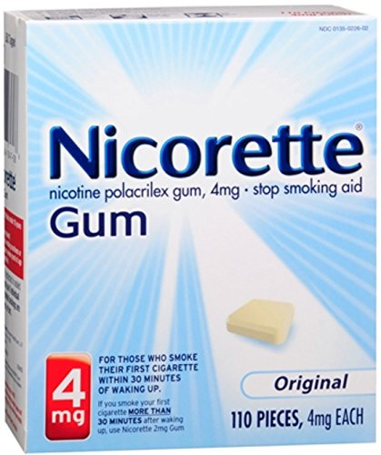 Nicorette 4 mg Original 110 Each