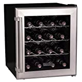 Koldfront 16 Bottle Thermoelectric Wine Cooler - Platinum