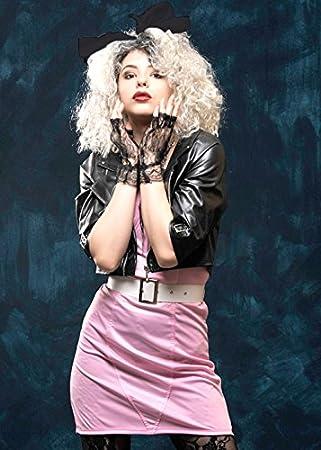 b8654ac447 Traje de Estilo de Madonna del Rocker de los años 80 de Las señoras Medium  (UK 12-14): Amazon.es: Juguetes y juegos