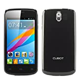 Cubot GT95 4 Inch Android 4.4 Mobile Phone - 800x480 Capacitive IPS Screen, MTK6572 1GHz, 512 MB RAM, 4GB ROM (Black)