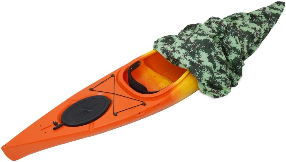 Details about  /Kayak Cover Canoe Fishing Boat Waterproof Dust Storage Shield Cover Oxford
