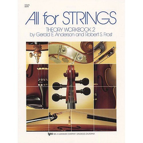 All For Strings: Theory Workbook No. 2 for Violin - Partitions