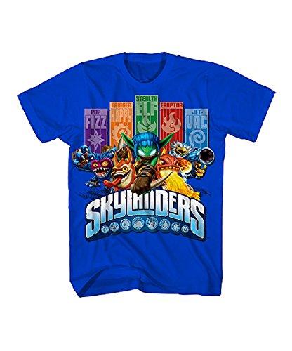 Skylanders Big Boys' Call Outs Graphic Tee XL(18/20)