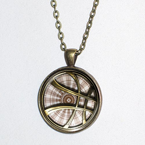 Doctor Strange photo emblem - pendant necklace - HM (X Men Mystique Halloween Costume)