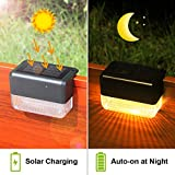 CHINLY Solar Deck Lights 12-Pack Outdoor Waterproof