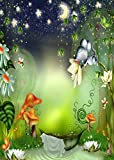 GladsBuy Wonderful Fairy Tale World 5' x 7' Computer Printed Photography Backdrop Other Theme Background ZJZ-463