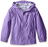 Columbia Big Girl's Switchback Rain Jacket, Grape Gum, M