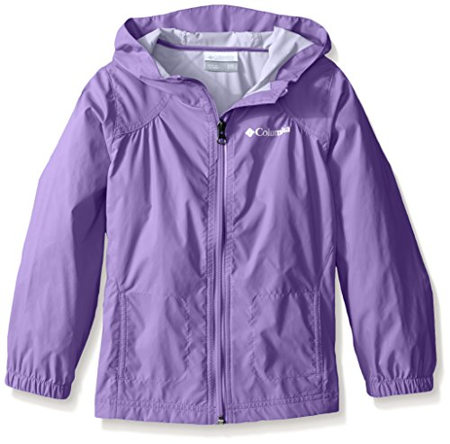 Columbia Big Girl's Switchback Rain Jacket, Grape Gum, M]()
