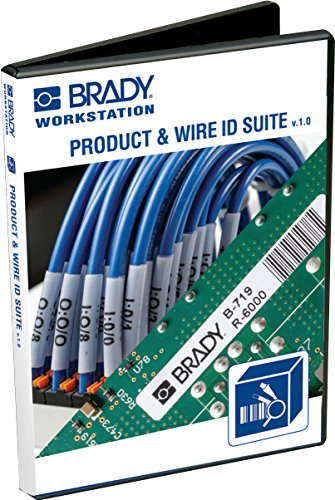 Brady Workstation Product and Wire Identification Software Suite - CD - BWS-PWIDS-CD (Identification Software)