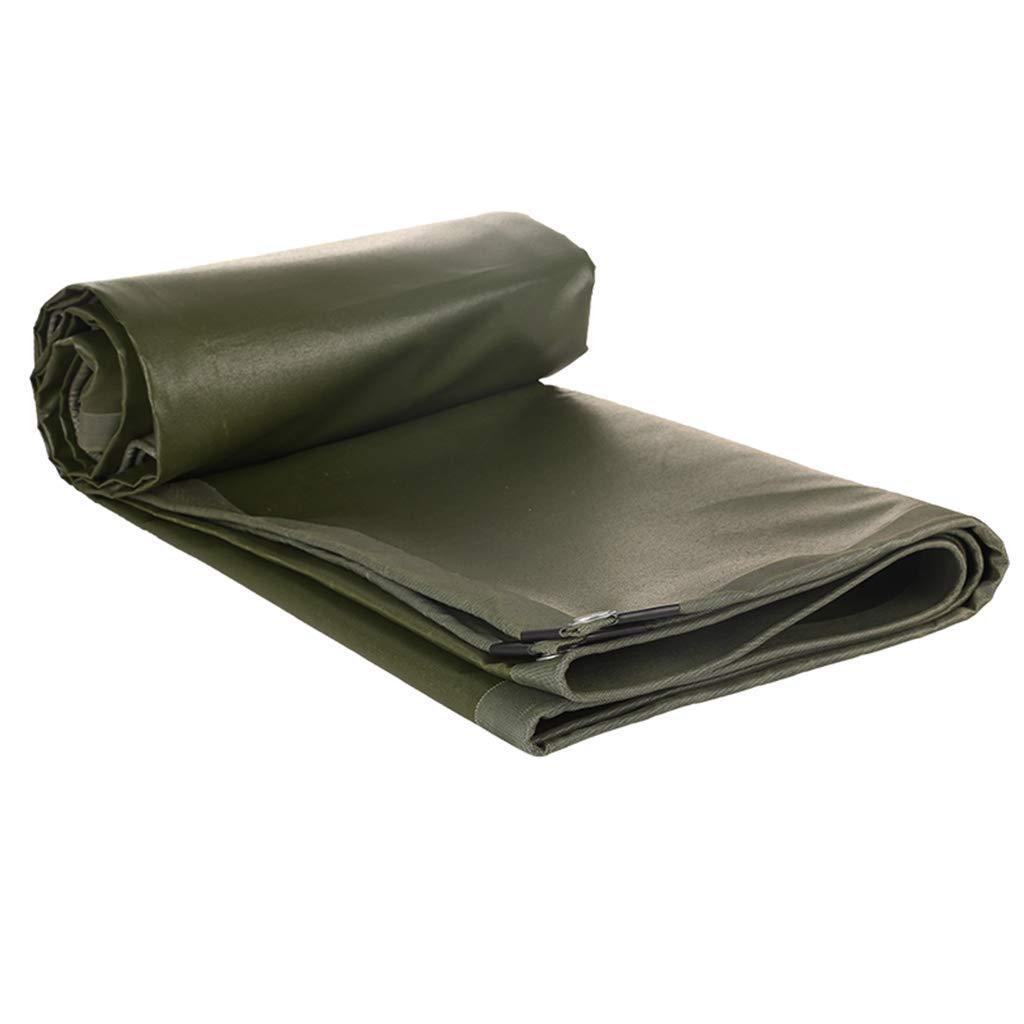 Yuke 600g   m² Grün Starke Plane Wasserdichte Heavy Duty Ground Sheet Abdeckung für Camping Shelter Sonnenschirm (größe   5x8m)