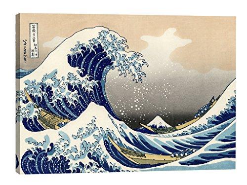 Eliteart-The Great Wave Off Kanagawa by Katsushika Hokusai Reproduction Giclee Art Canvas Prints Hokusai Wave