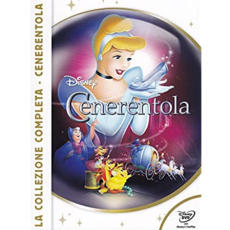 Trilogia Cenerentola - Film DVD Walt Disney - Cofanetto Trilogia Cenerentola